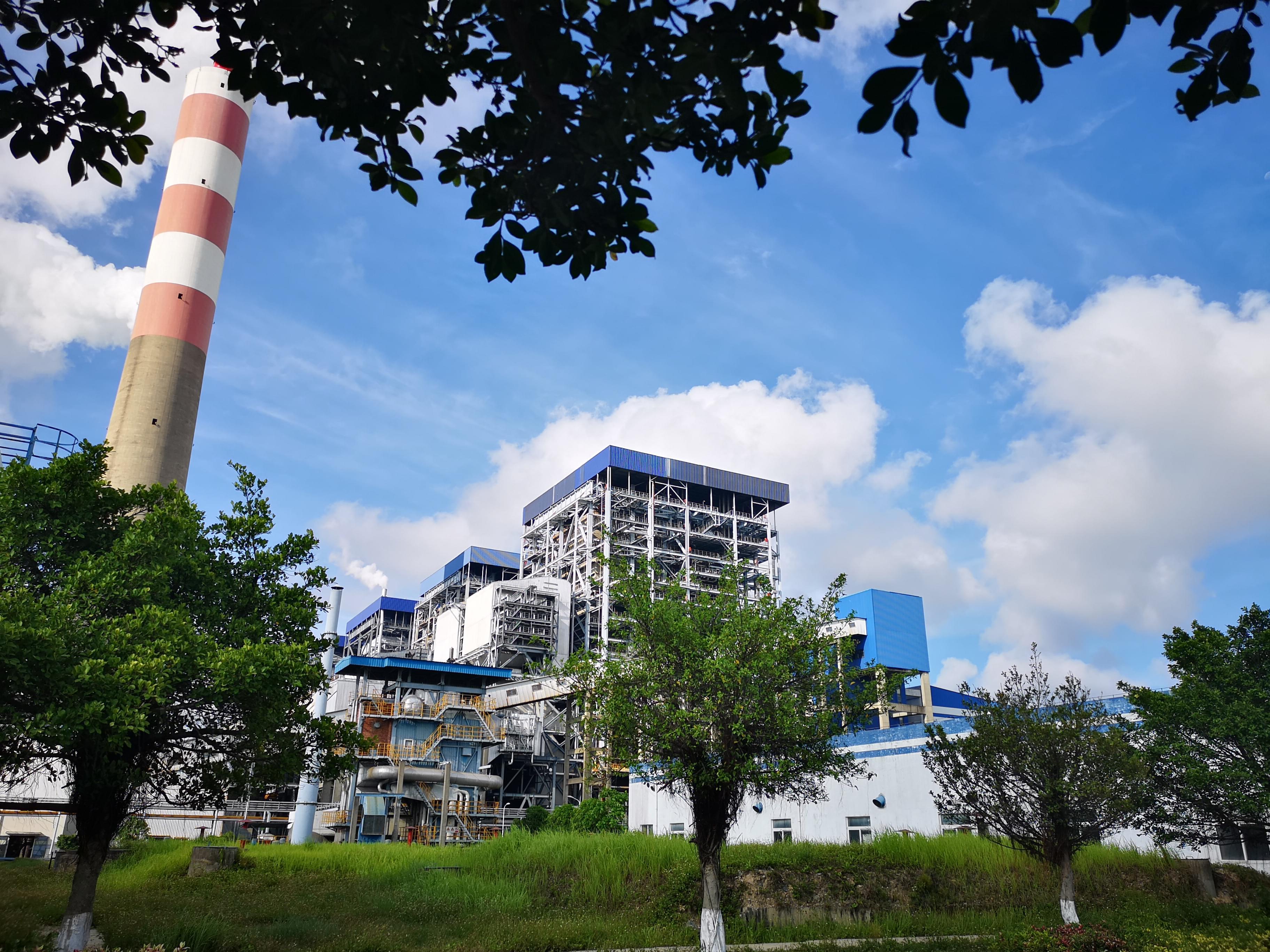 中电广西发电锅炉燃烧器项目