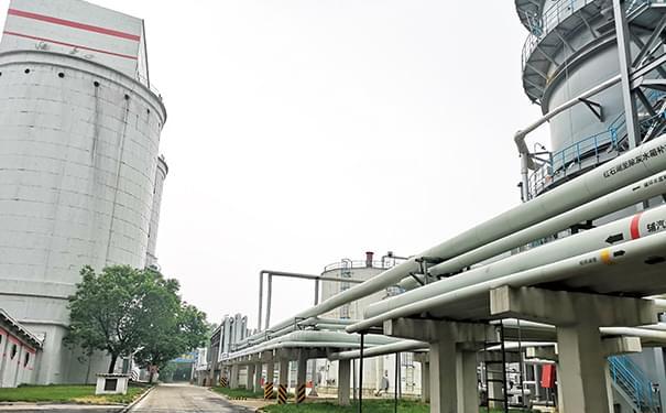 钦州电厂自蔓燃陶瓷复合管项目