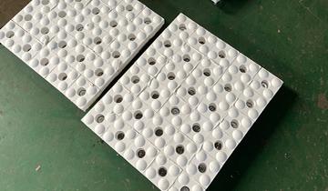 矿山耐磨衬板公司之三合一陶瓷耐磨衬板篇