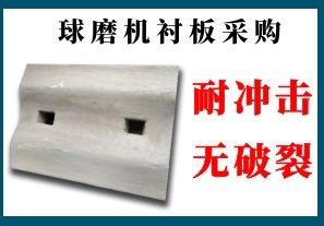 球磨机衬板采购-客户认准指定厂家[江河]
