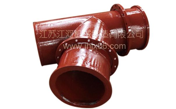 江河机械 双金属管耐磨三通管