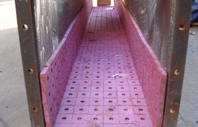 江河机械溜槽耐磨衬板